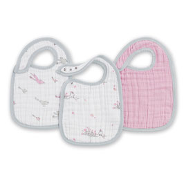 Pack de 3 bavoirs Aden & Anais For the Birds