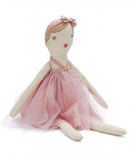 Poupée Molly Dolly robe rose