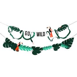 Guirlande thème Jungle meri meri