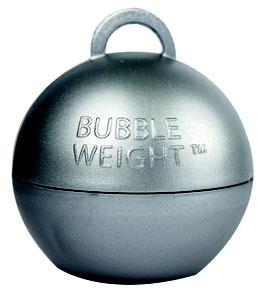 5 poids coloris argent pour ballons gonflables