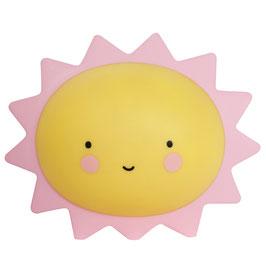 Veilleuse soleil jaune et rose A little lovely company