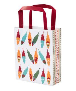 8 sacs papier pour anniversaire indien