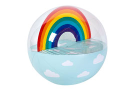 Ballon gonflable arc en ciel XL Sunnylife