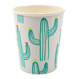 12 gobelets cactus Meri meri