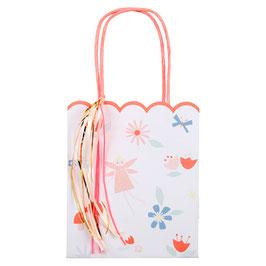 8 sacs à cadeaux invités thème Fée