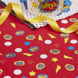 Pack de confettis super héros