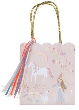 8 Sacs Cadeaux Invités Princesse Magique Meri Meri
