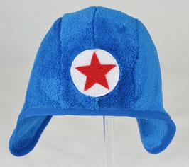 bonnet couvrant en fourrure bleu kik kid