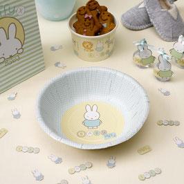 8 bols en carton anniversaire Miffy