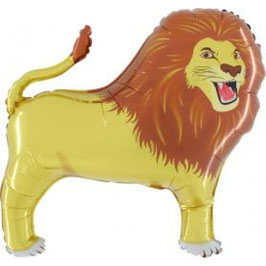 Ballon métallique lion 81cms
