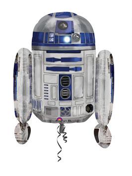 Ballon R2D2 en aluminium géant pour fête Star Wars