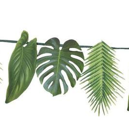 Guirlande Feuilles de palmiers en papier