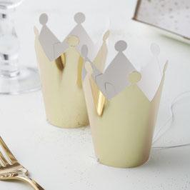 5 couronnes dorées