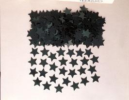 Confettis noirs en forme d'étoiles