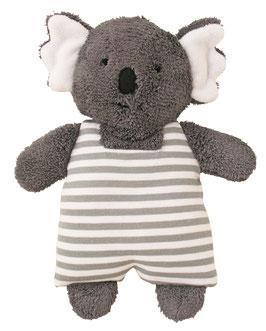 Hochet koala rayé gris et blanc Alimrose 23cms