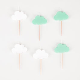 6 bougies nuages My little day