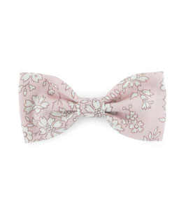 Grande barrette noeud Liberty of London Pink Capel
