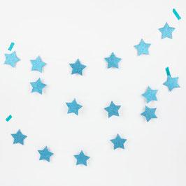 Guirlande Etoiles pailletées bleues my little day