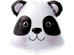 Ballon métallique Panda