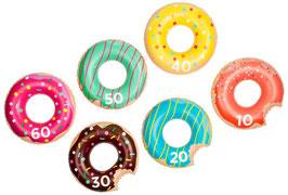Jeu Gonflable de Lancer d'Anneaux Donuts Sunnylife