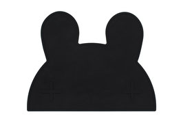 Set de table en silicone lapin noir We might be tiny