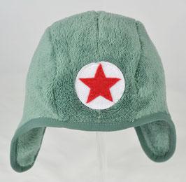 bonnet couvrant en fourrure couleur kaki kik kid