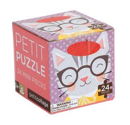 Mini puzzle chat marque Petit Collage