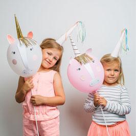 Kit de 4 ballons licorne Meri Meri