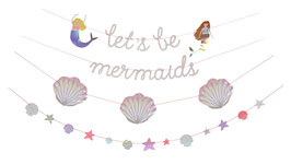 Guirlande anniversaire Sirène Meri Meri