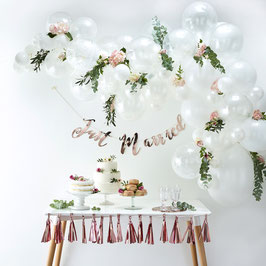 Kit Arche Ballons Blancs