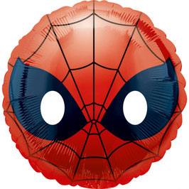 Ballon métallique Spiderman Emoji diamètre 43cms