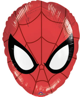 Ballon mylar Spiderman 43cmsX30cms