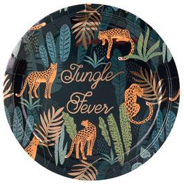 8 Grandes Assiettes Jungle Fever