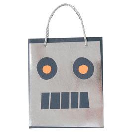 8 sacs cadeaux invités robots meri meri