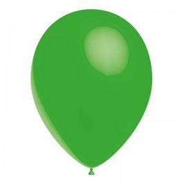 10 ballons verts en latex