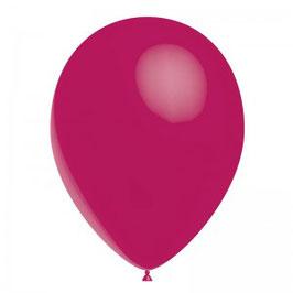 10 ballons fuchsias en latex
