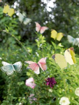 Guirlande papillons en papier pour décoration fête