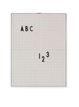 Tableau gris pour messages Letter board Design letters format 21cmsX28cms