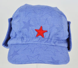 casquette étoile avec côté fond bleu marque Kik kid