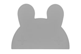 Set de table en silicone lapin gris We might be tiny