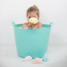 Jouet pour le bain Parapluie jaune pastel A little lovely company