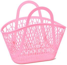 Panier Plastique Vintage Betty Rose Bubblegum