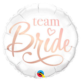 Ballon Evjf Team Bride en Aluminium