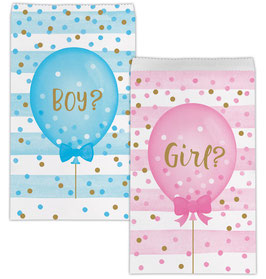 "10 Pochettes Papier ""Boy or Girl"""
