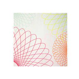 20 petites serviettes thème neon Meri Meri