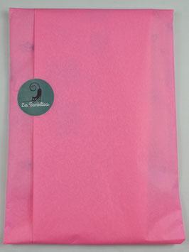 Emballage cadeau papier de soie couleur rose clair