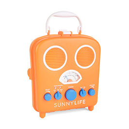 "Radio de plage et amplificateur ""Beach sound"" orange Sunnylife"