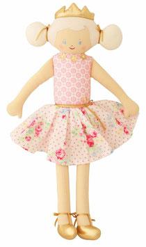 Poupée princesse robe à fleurs Alimrose