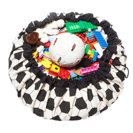 Sac de rangement et tapis de jeu football Play and go