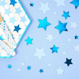 Confettis de Table Etoiles Bleues